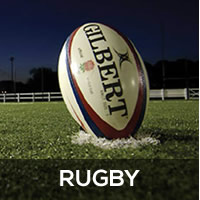 Rugby Football On Field